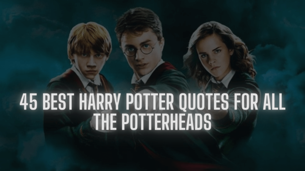 45 Best Harry Potter Quotes for all the Potterheads - thesoftbook