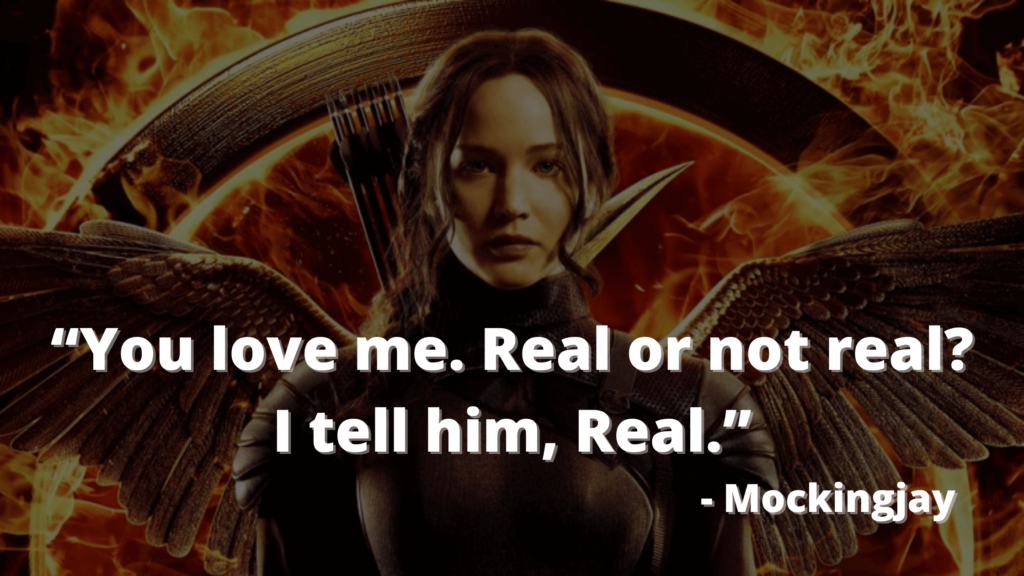 """""""You love me. Real or not real_""""I tell him, """"Real."""""""