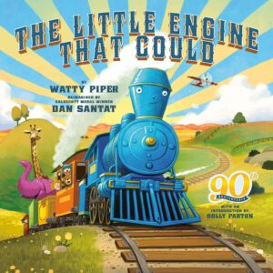 The Little Engine that could (90th-Anniversary Edition) - By Watty Piper - books for 3 years old
