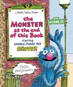 The Monster at the End of this Book - books for 3 years old