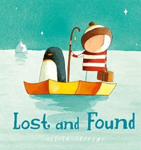 lost and found - By Oliver Jeffers - books for 3 years old