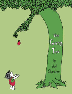 the giving tree - By Shel Silverstein - books for 3 years old