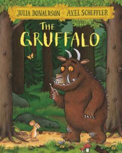 the gruffalo - By Julia Donaldson - books for 3 years old