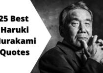 25 Best Haruki Murakami Quotes