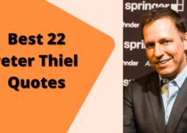 Peter Thiel Quotes | Author of Zero to One