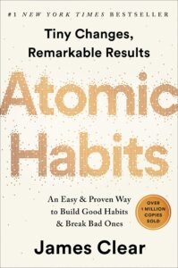 Atomic habits by James Clear - Books to read in 2021
