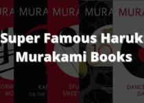 Super Famous Haruki Murakami Books