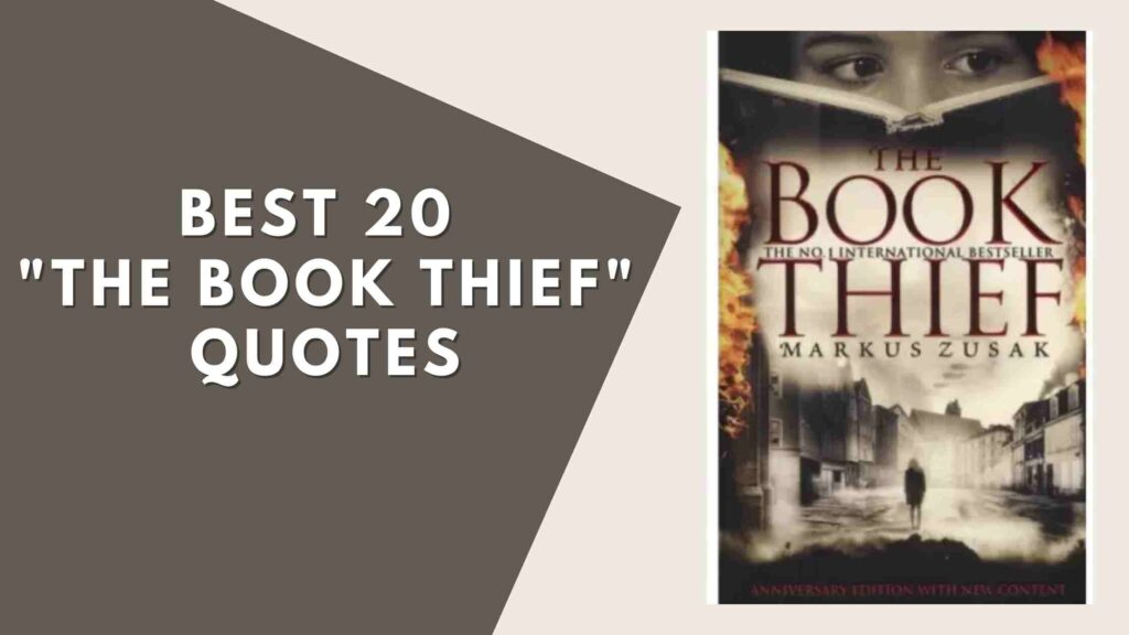 """Best 20 """"The Book Thief"""" Quotes"""