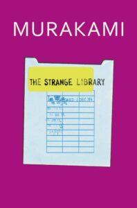 the strange library Haruki murakami books (9)