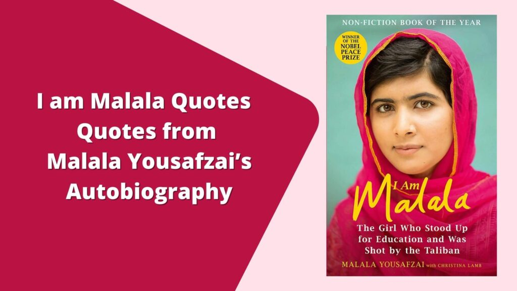I am malala quotes and book preview - I am malala book cover