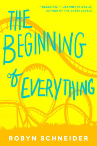 The beginning of everything by Robyn Schneider - books like the fault in our stars