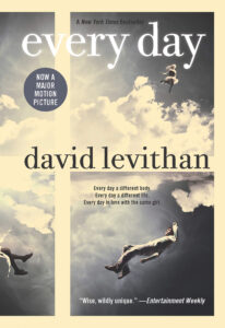 everyday by david levithan - books like the fault in our stars