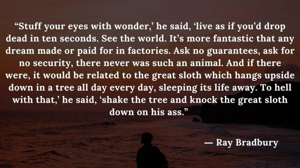 Fahrenheit 451 Quotes - Ray Bradbury (20)